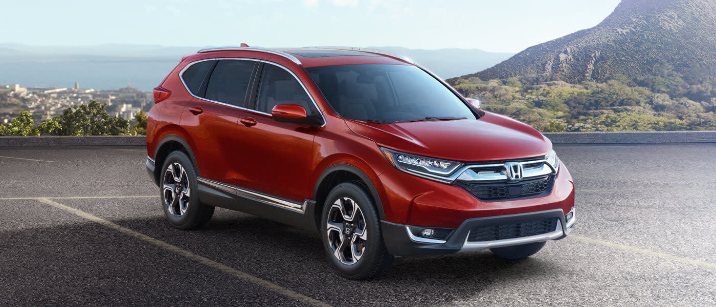 2019 Honda CR-V exterior parking lot by ocean