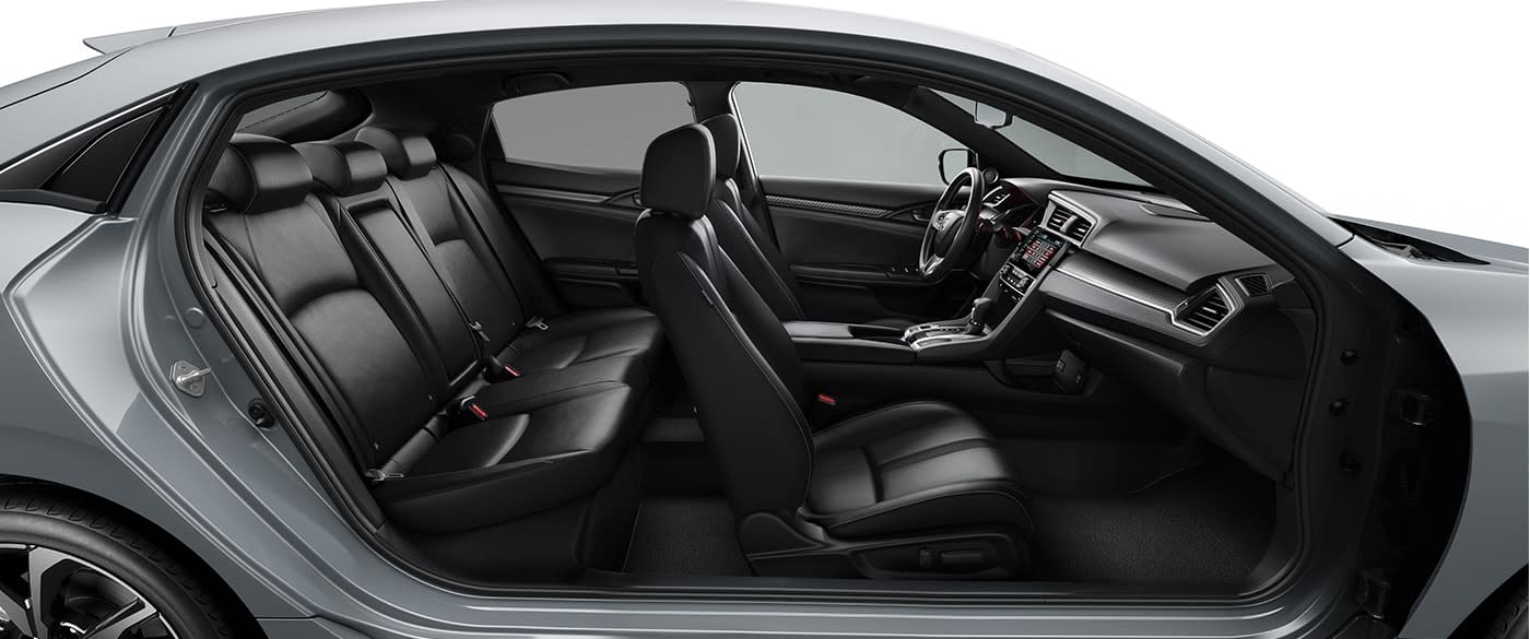 Spacious Interior of the 2019 Fit