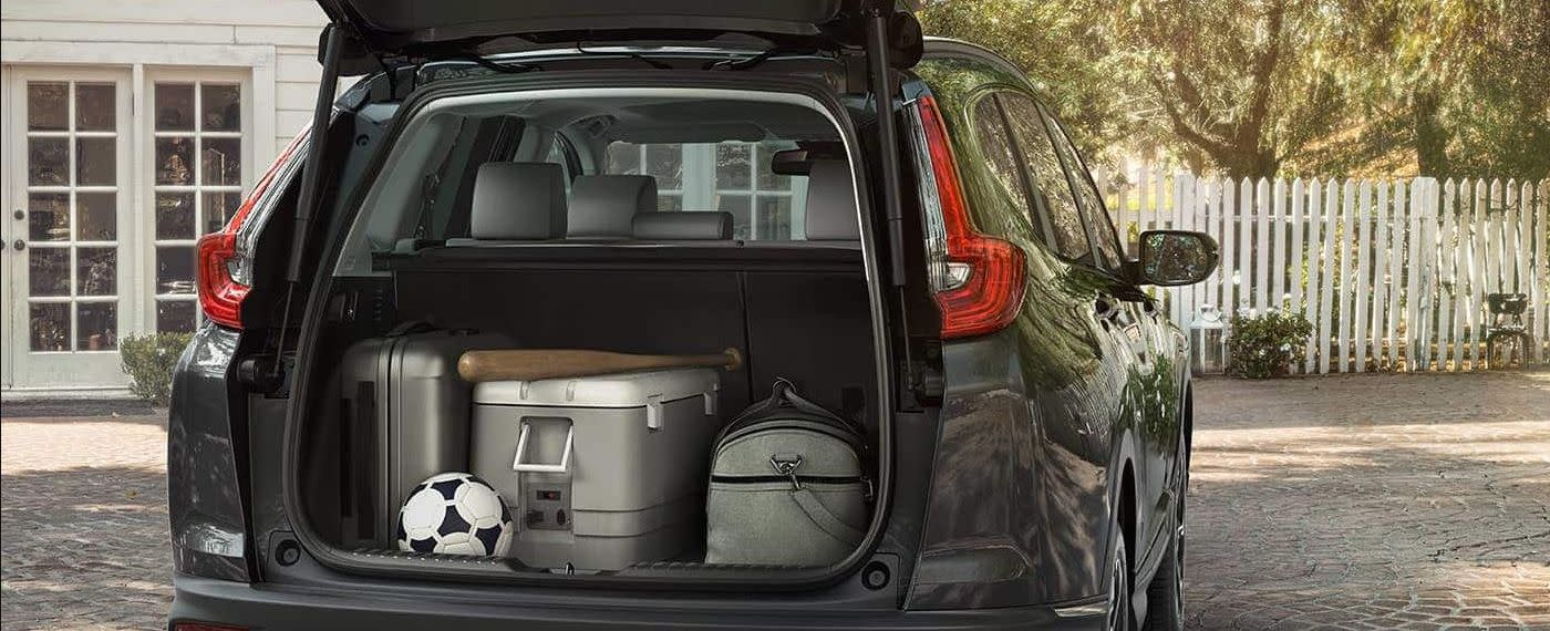 Store All Your Gear in the 2019 CR-V!
