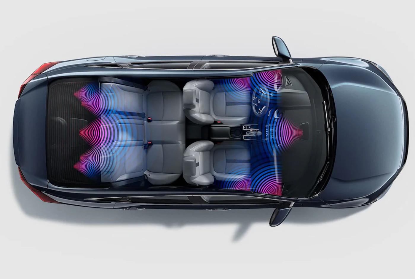 El sistema de sonido del Honda Civic 2019 es impresionante