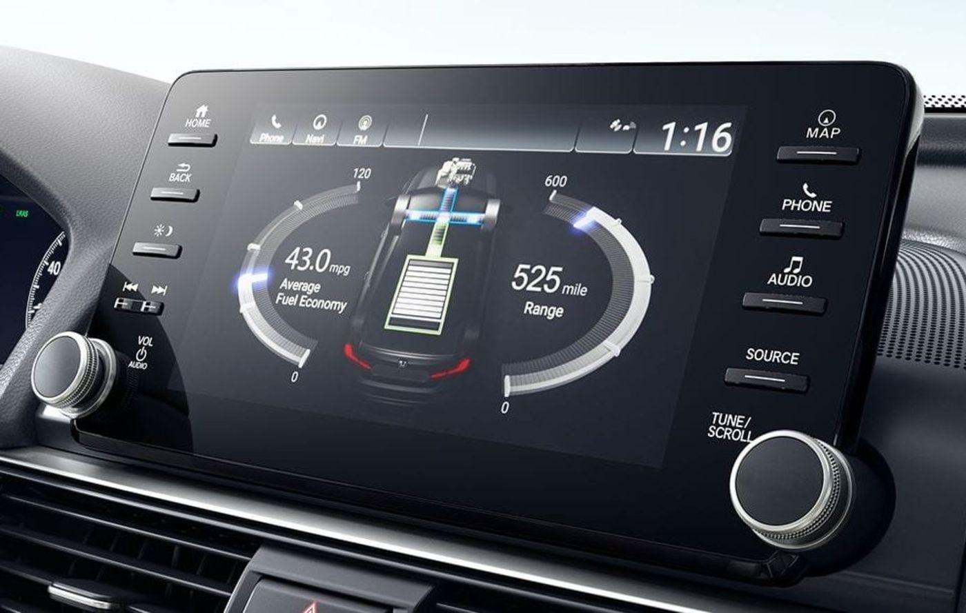 Monitor de flujo de potencia del Honda Accord Hybrid 2019