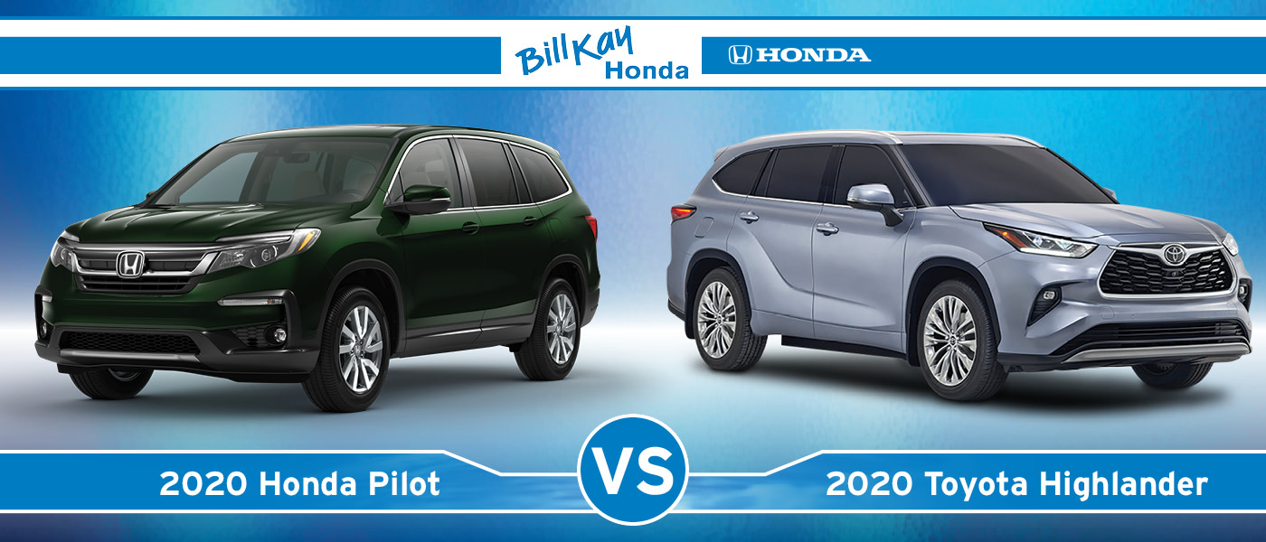 Honda Pilot vs. Toyota Highlander
