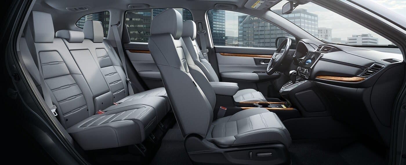Interior of the 2020 Honda Pilot