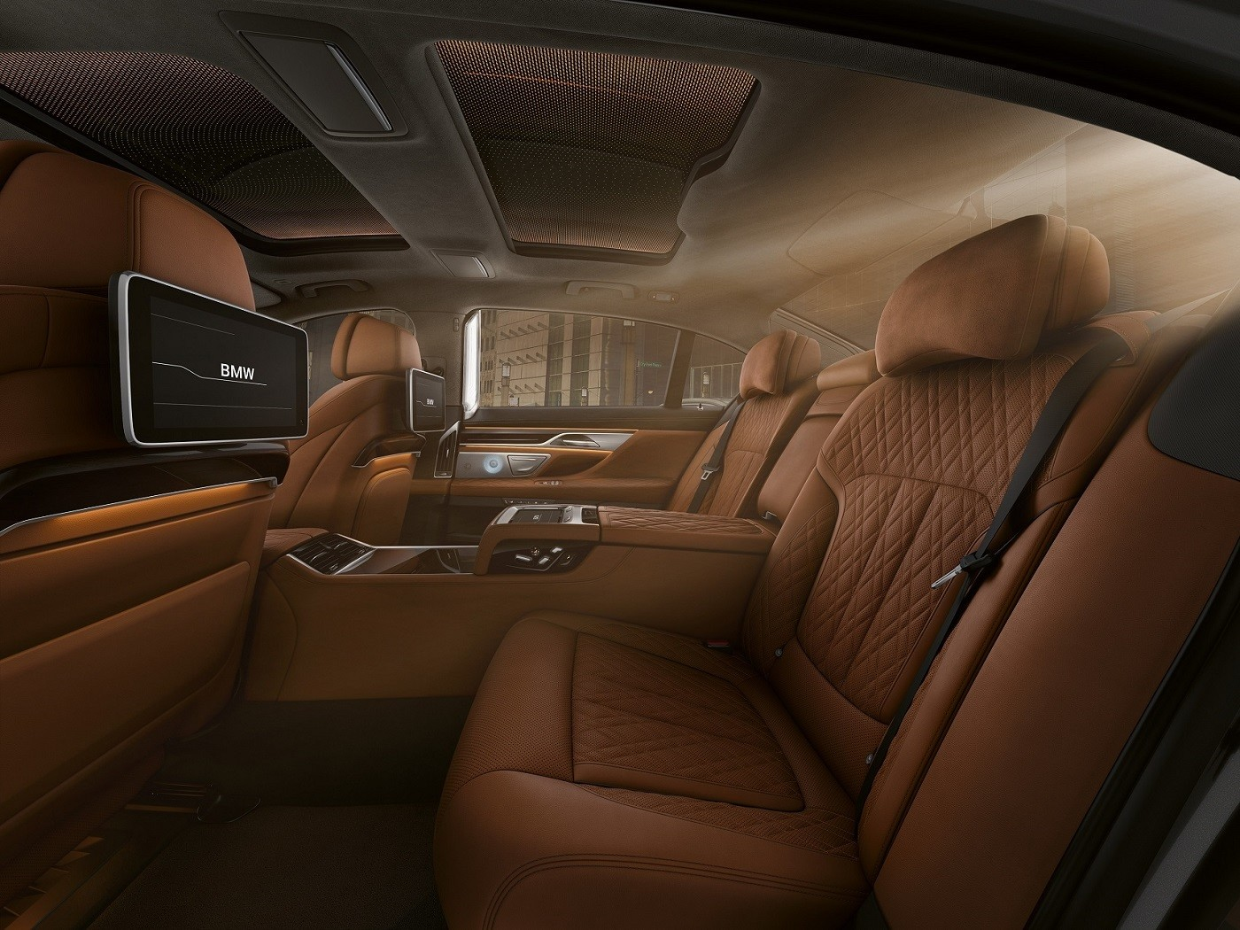 BMW 7 Series Backseat