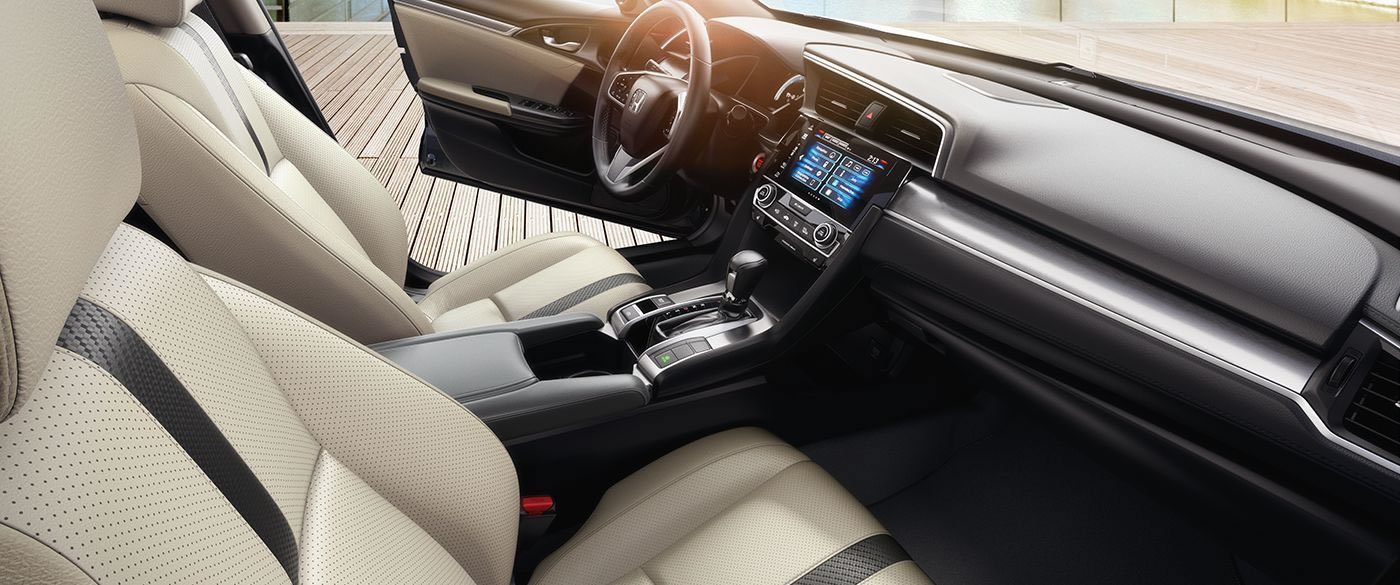 The Welcoming Interior of the 2017 Civic!