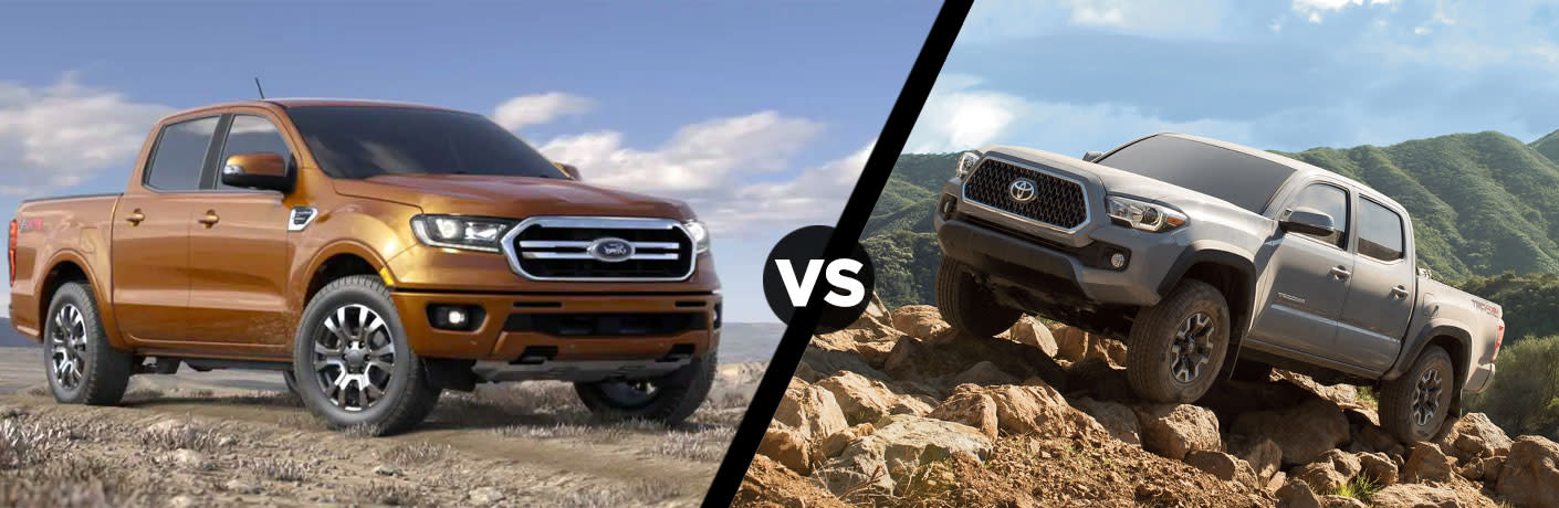 2019 Ford Ranger vs 2019 Toyota Tacoma Comparison Research