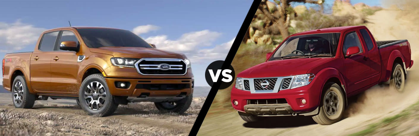 2019 Ford Ranger vs 2019 Nissan Frontier Comparison Research