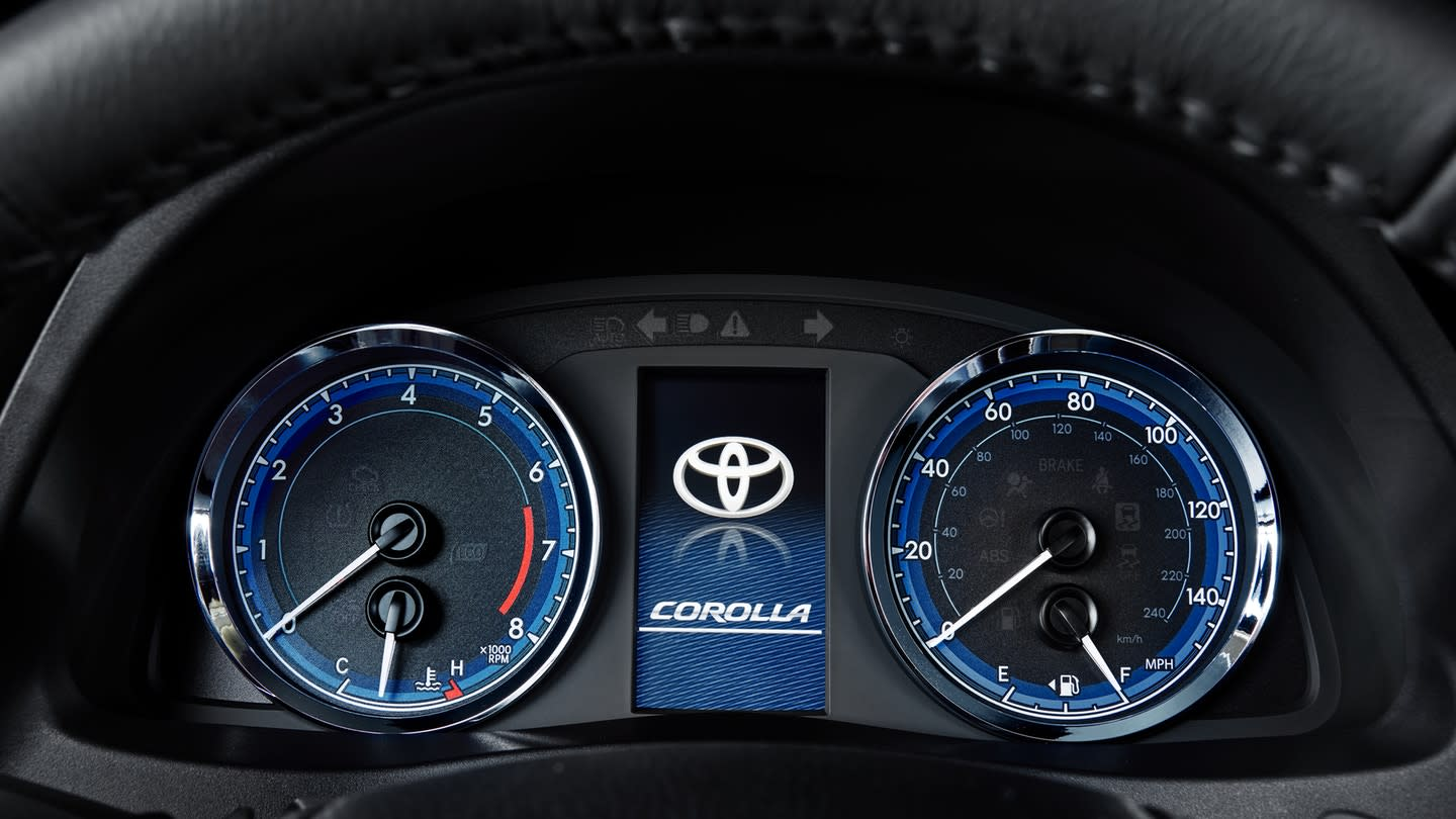 You'll Love Driving in the Corolla!