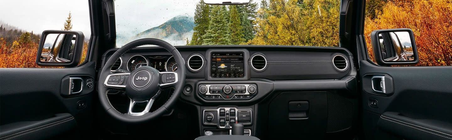 2019 Jeep Wrangler Dashboard