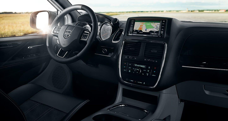 Interior of the 2019 Dodge Grand Caravan