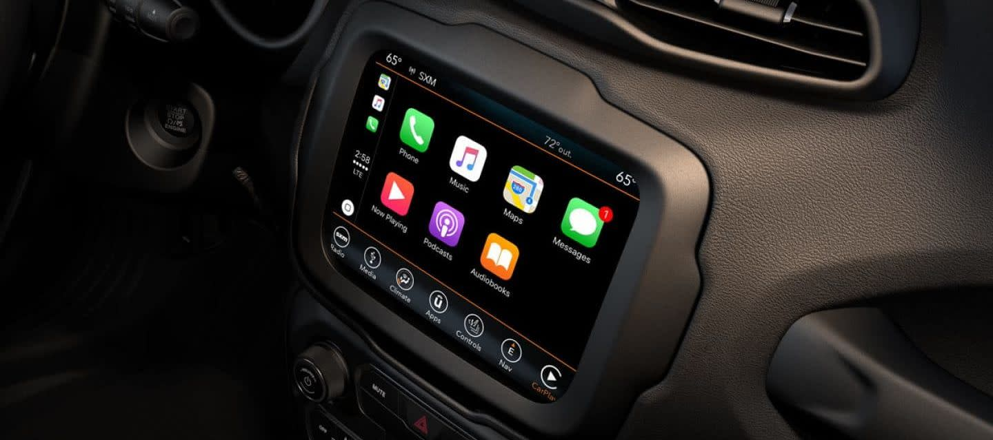 Stay Connected in the 2019 Renegade