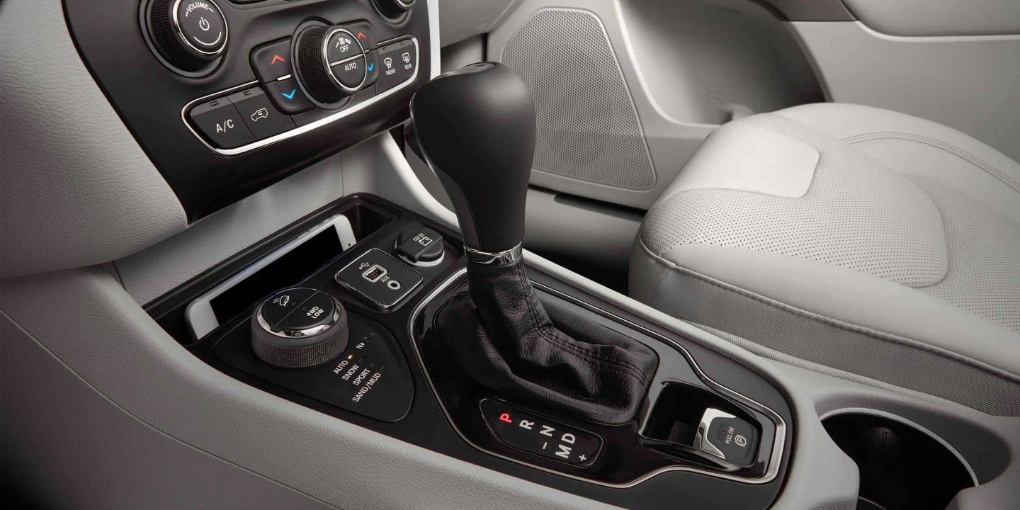Gear Shift in the 2019 Jeep Grand Cherokee