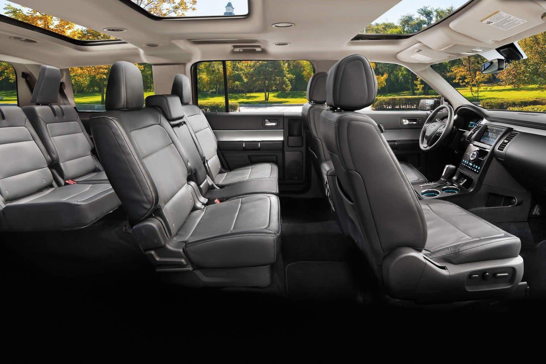 Interior of the 2019 Ford Flex
