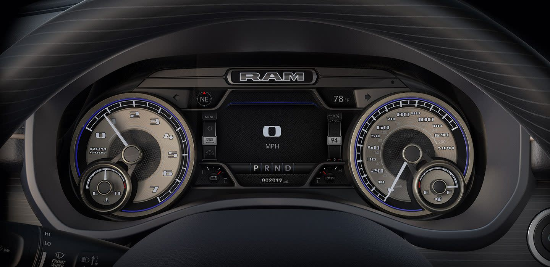 2020 Ram 1500 Instrument Panel