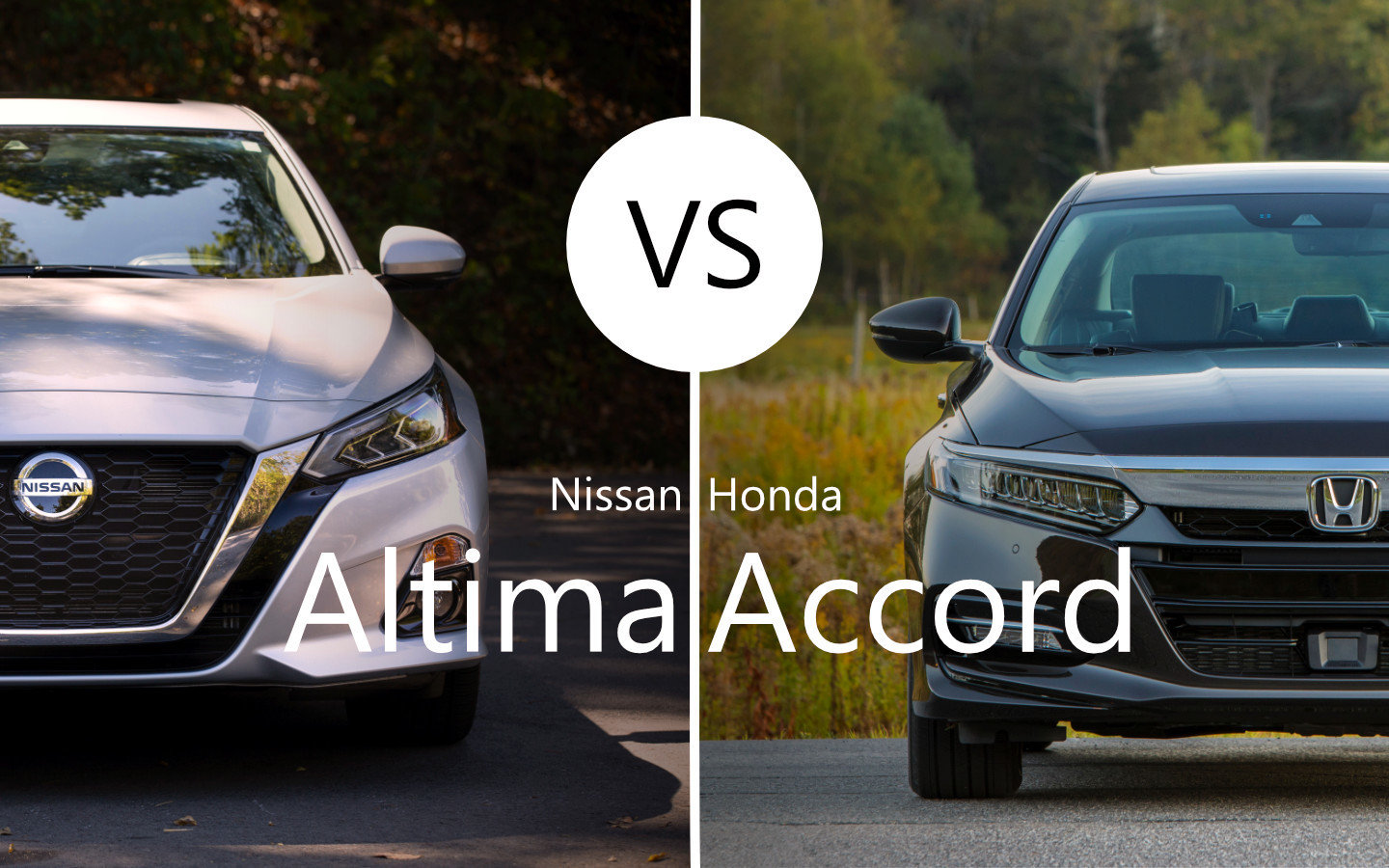 2020 nissan altima vs 2020 honda accord