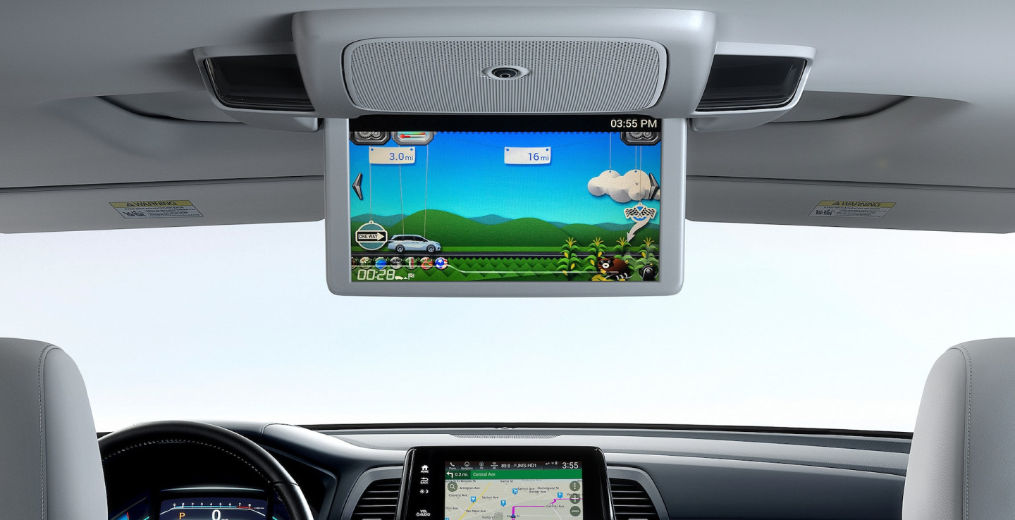 Rear Entertainment in the 2020 Odyssey