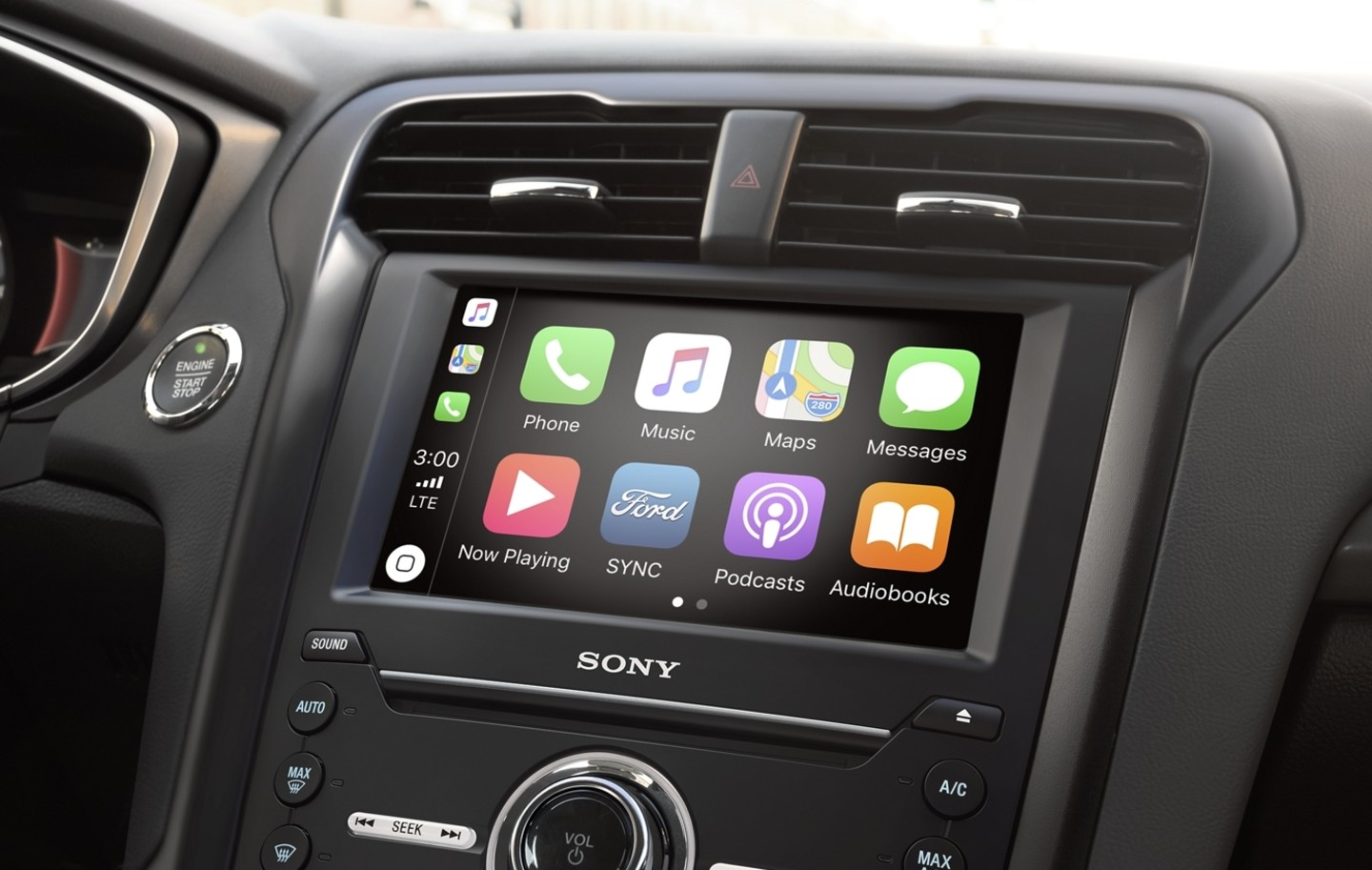 Infotainment in the 2020 Ford Fusion