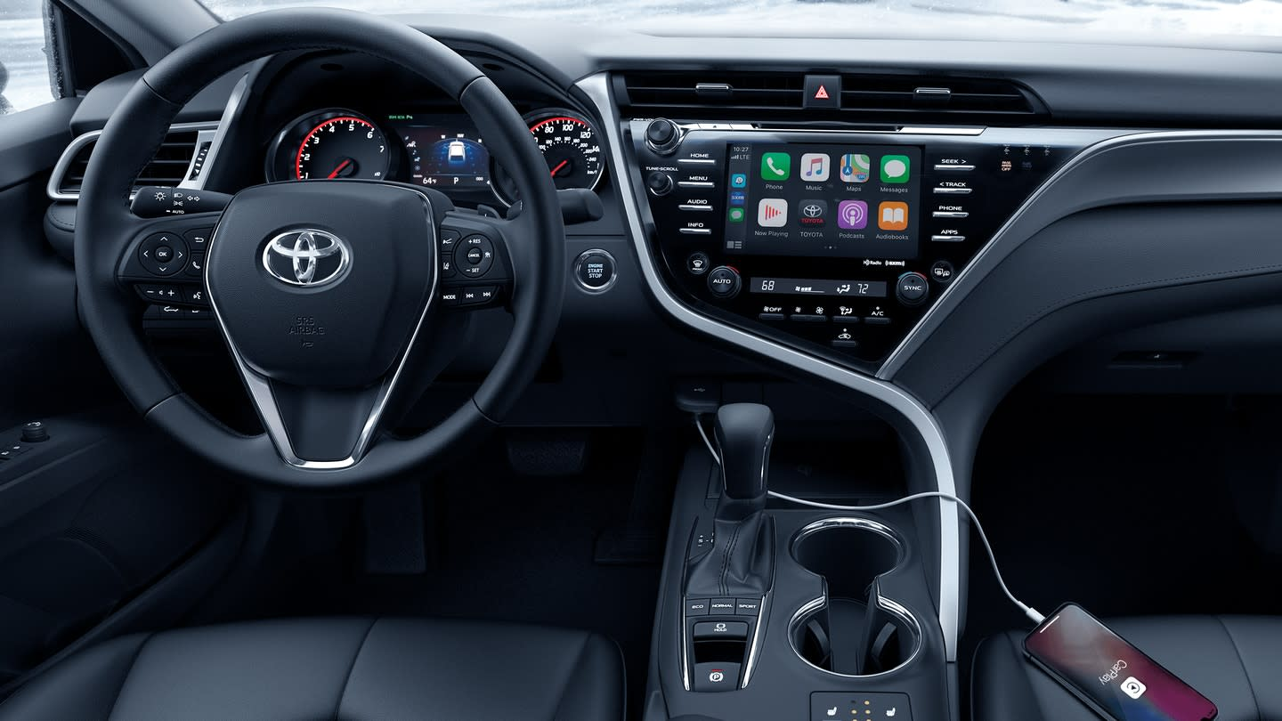 Interior of the 2020 Toyota Camry