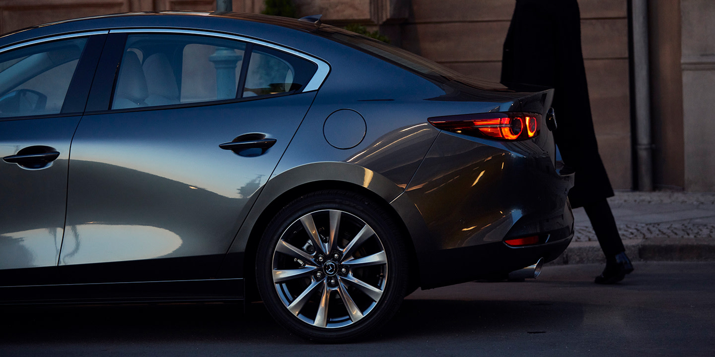 Turn Heads Left and Right in the 2020 MAZDA3 Sedan!