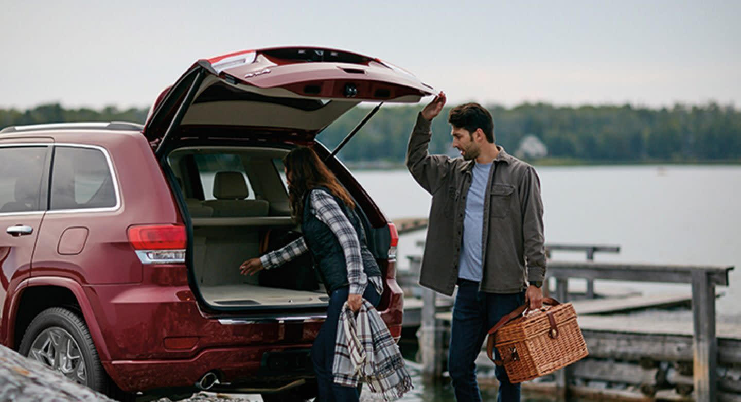 Pack All Your Gear into the 2020 Jeep Grand Cherokee!