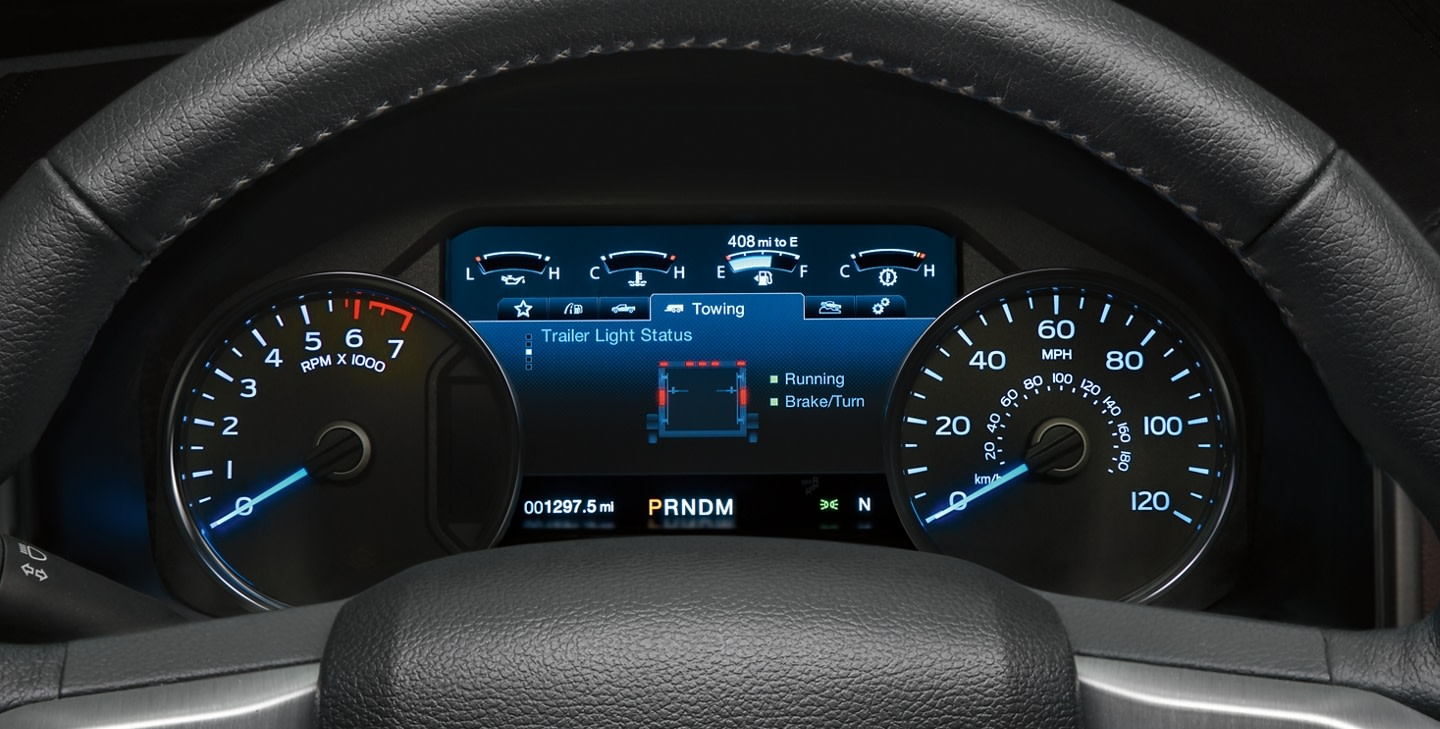 2020 Ford F-150 8-inch Productivity Screen