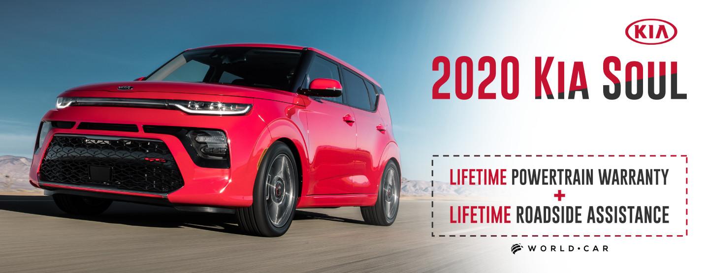 2020 Kia Soul - Lifetime Warranty