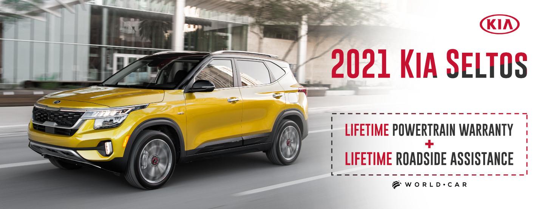 2021 Kia Seltos - Lifetime Warranty