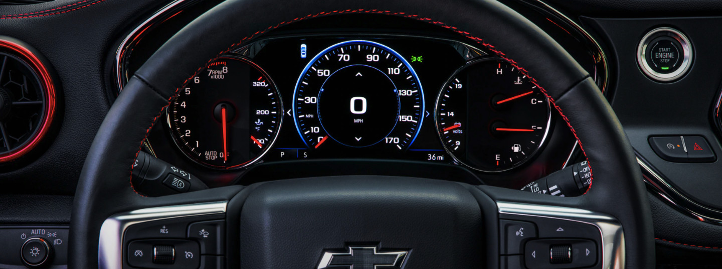 View Information Quickly When Cruising in the 2020 Chevrolet Blazer!