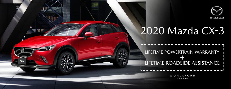 2020 Mazda CX-3 - Lifetime Warranty