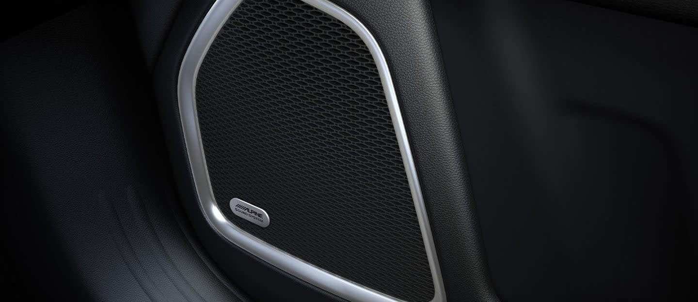 2020 Jeep Compass Alpine® Premium Audio System