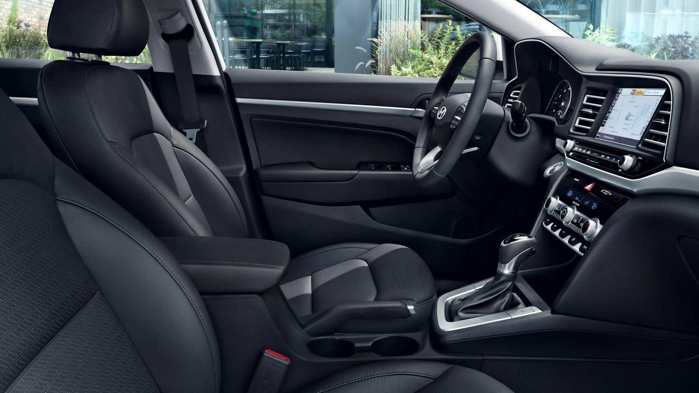 Interior of the 2020 Hyundai Elantra