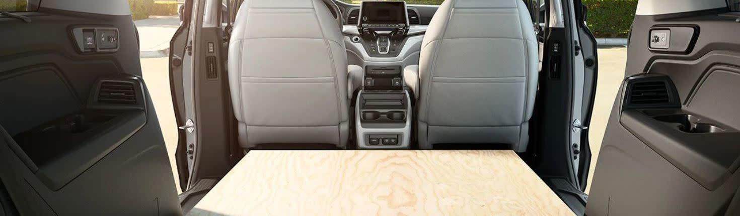 2020 Honda Odyssey Cargo Volume
