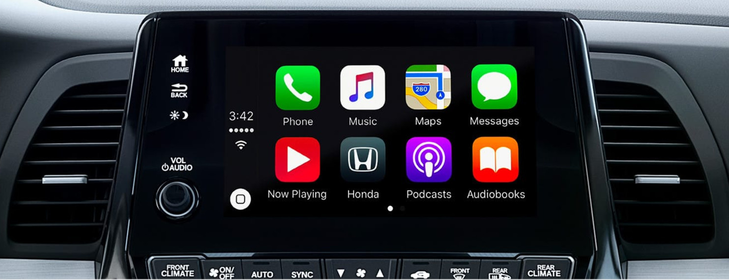 Apple CarPlay™ in the Honda Odyssey