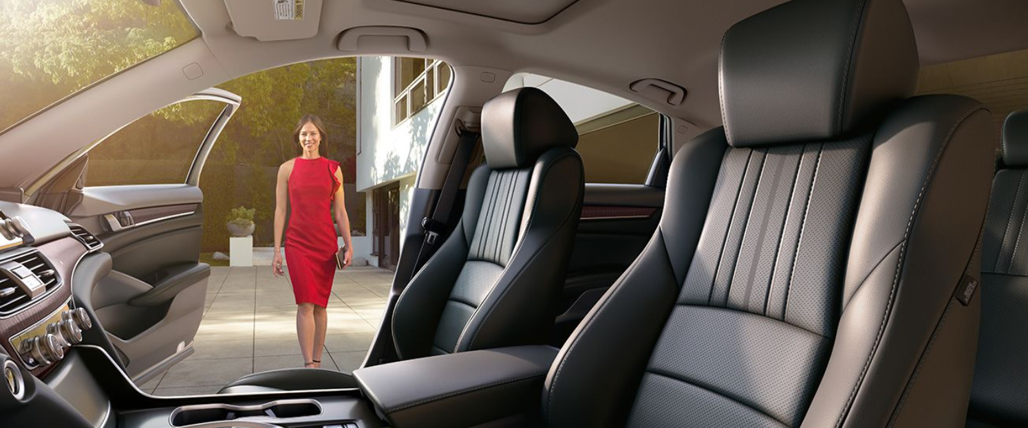 Upscale Seating in the Honda Accord