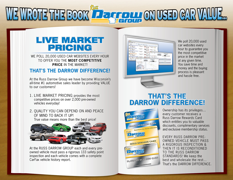 Russ Darrow Kia Madison >> Used Vehicle Competitive Pricing - Russ Darrow Group