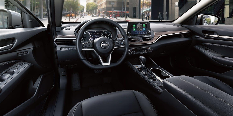 Interior of the 2019 Nissan Altima