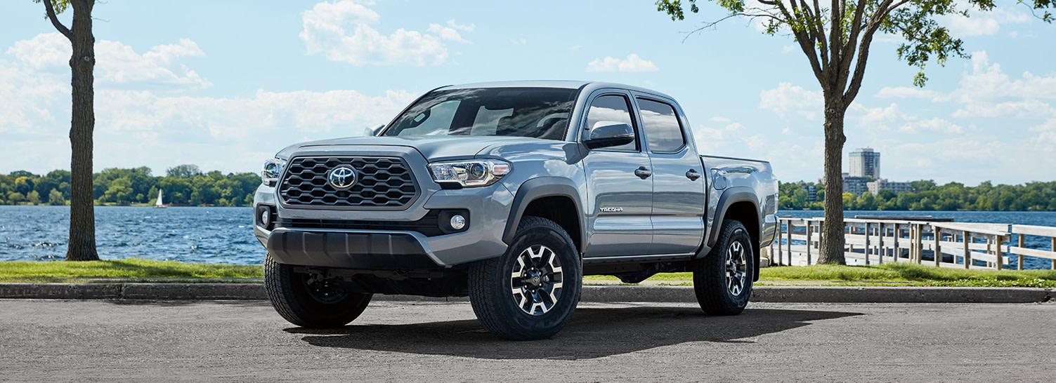 Team Toyota of Glen Mills is a Toyota Dealership near Kennett Square PA   2020 Toyota Tacoma near lake