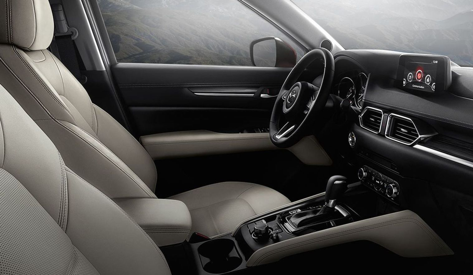 2017 CX-5 Features a Luxurious Cabin