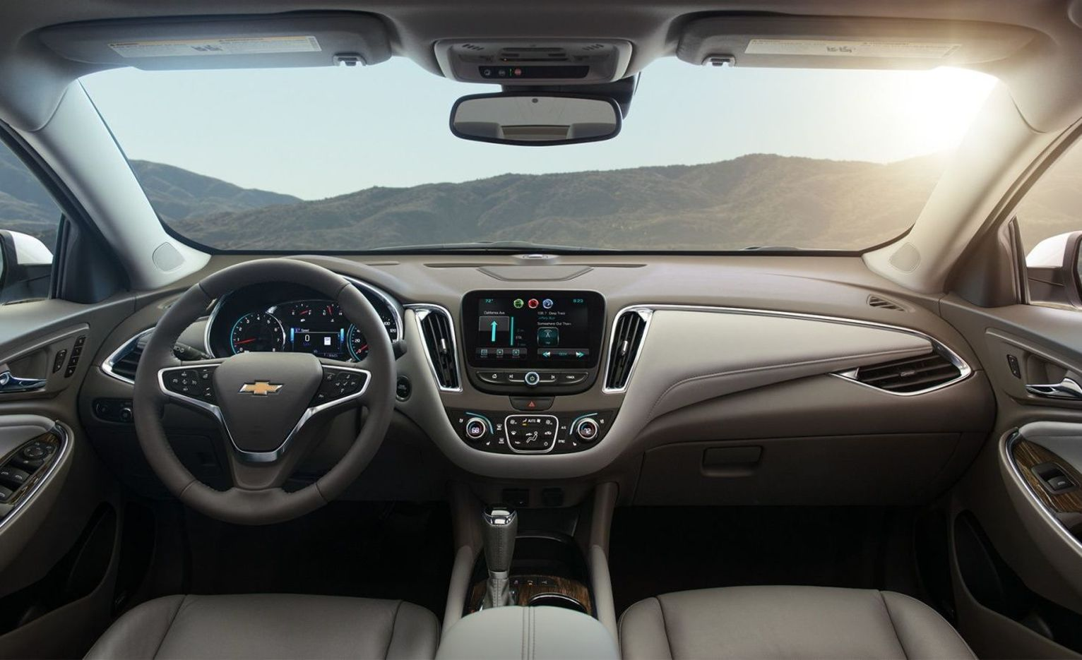Chevy Malibu Interior