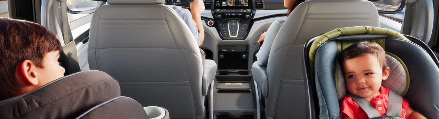 Room for All in the 2020 Honda Odyssey!