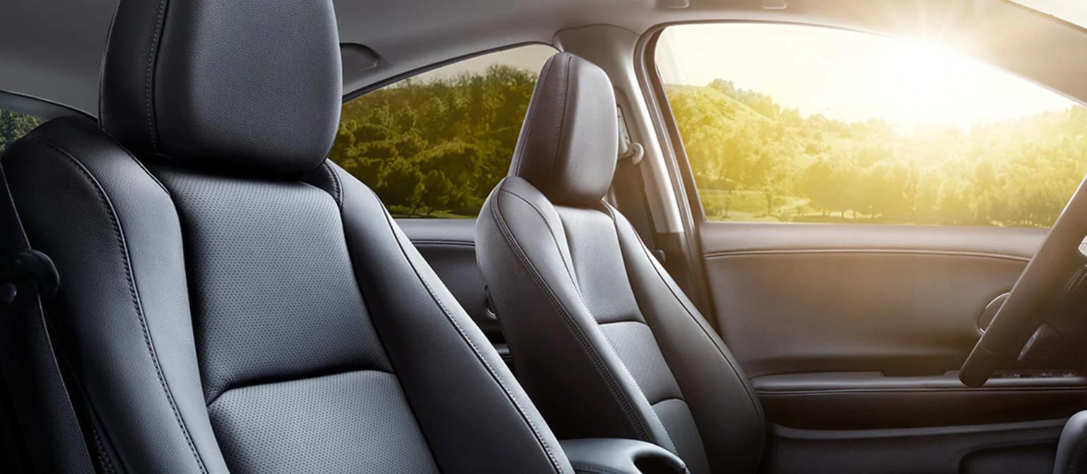2020 Honda HR-V Black Leather Seats