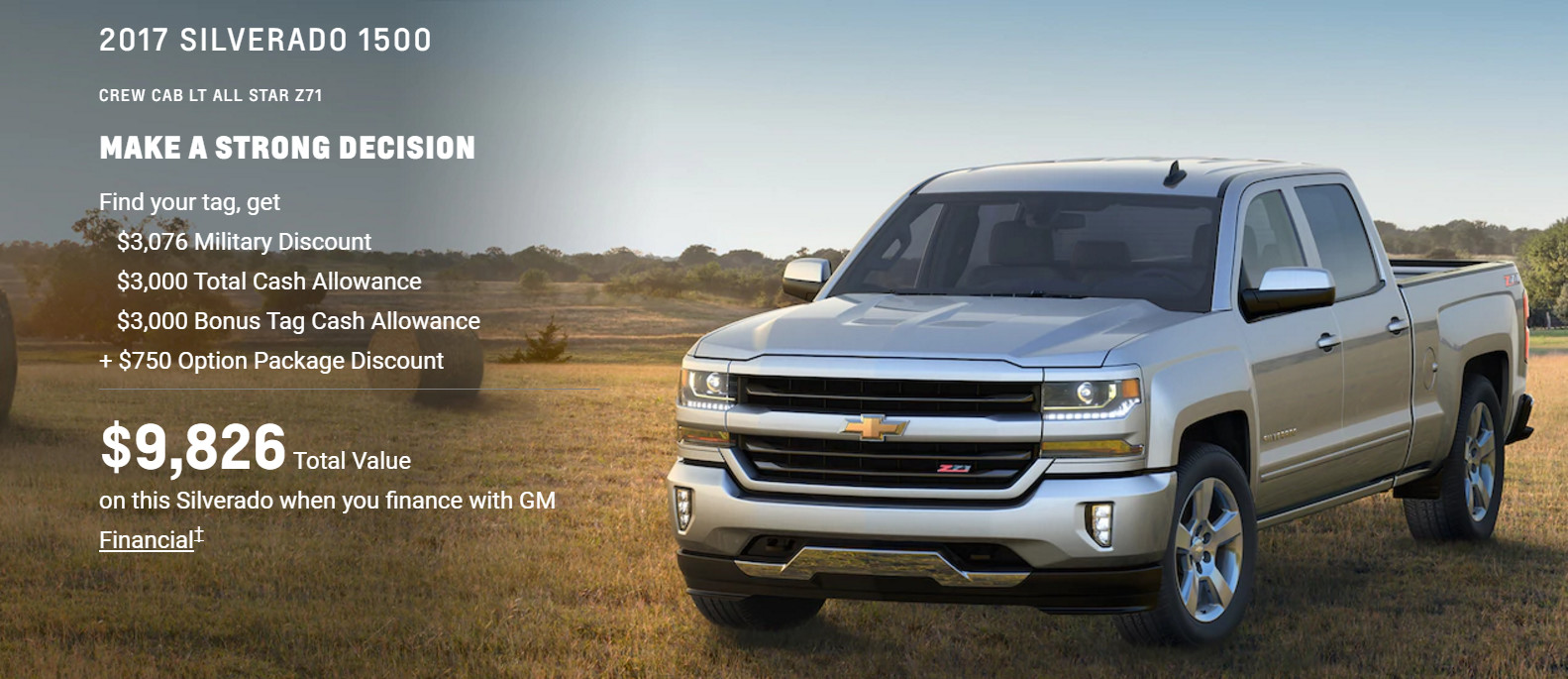 members chevrolet discounts military cell colorado for general discount fuel