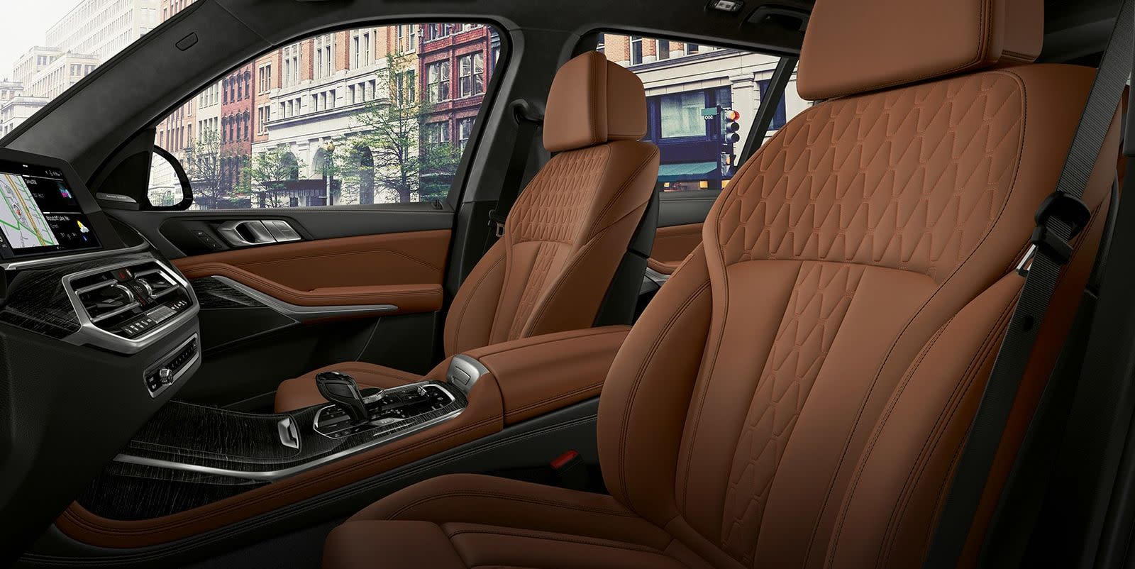 Cozy Cabin of the 2019 BMW X7
