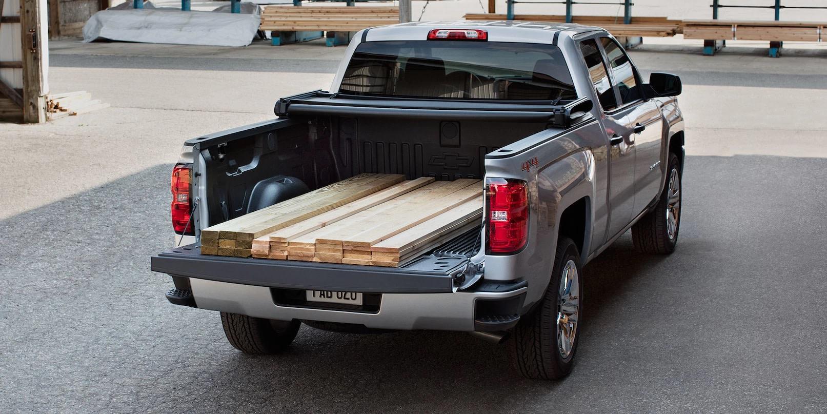 La Silverado 1500 te da la fuerza para transportar lo que necesitas