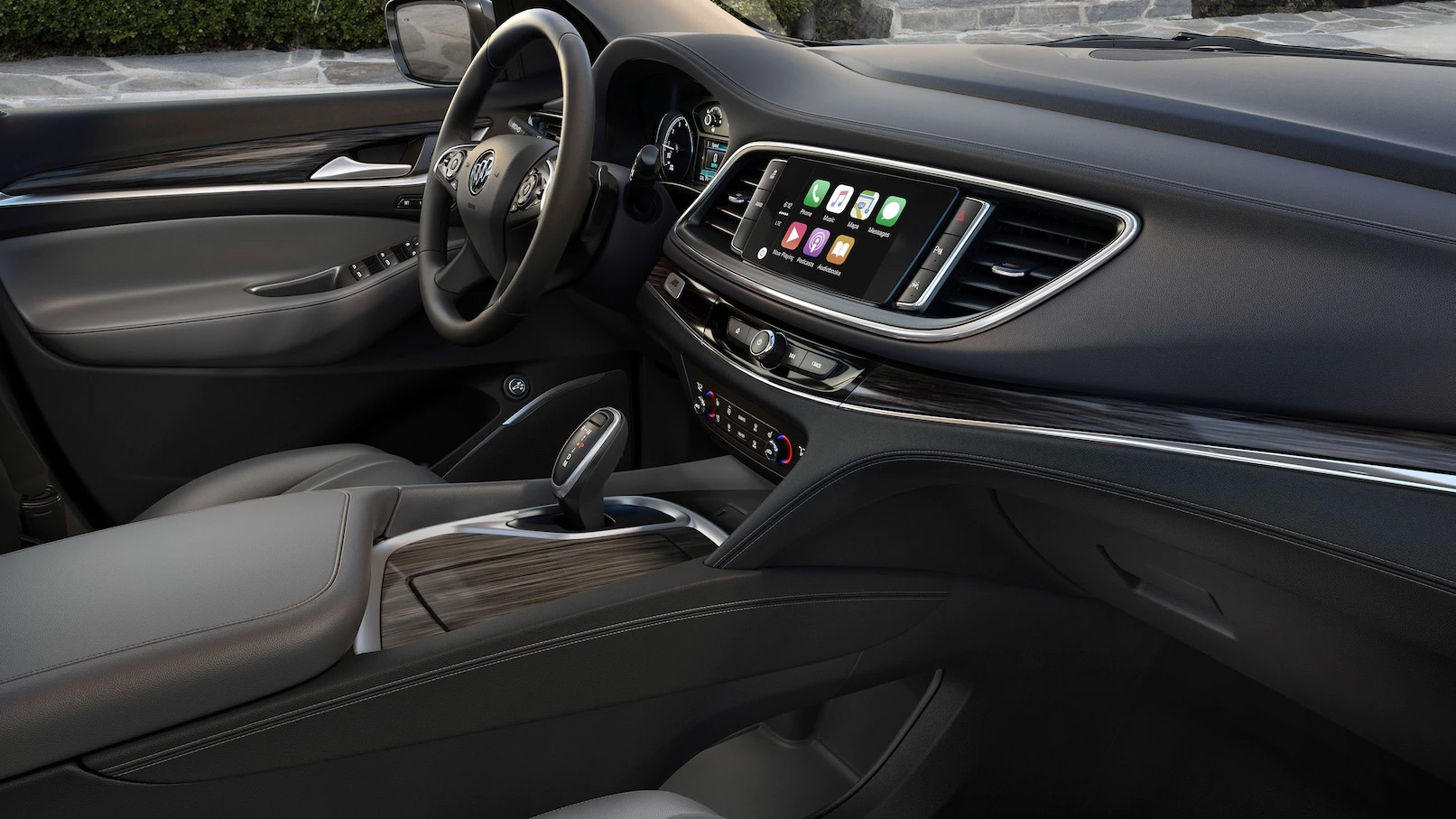 Interior of the 2018 Buick Enclave
