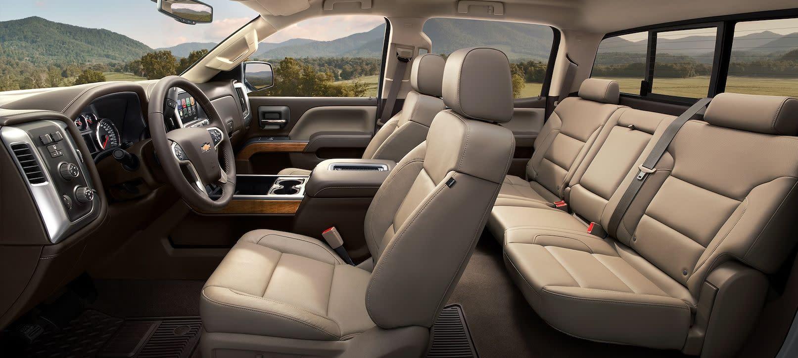 Cozy Seating in the Chevy Silverado