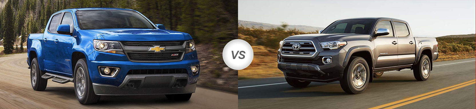 2018 Chevrolet Colorado vs 2018 Toyota Tacoma