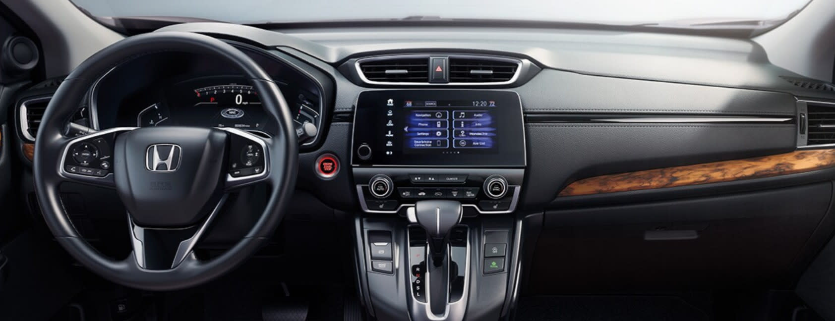 Interior of the 2020 Honda CR-V