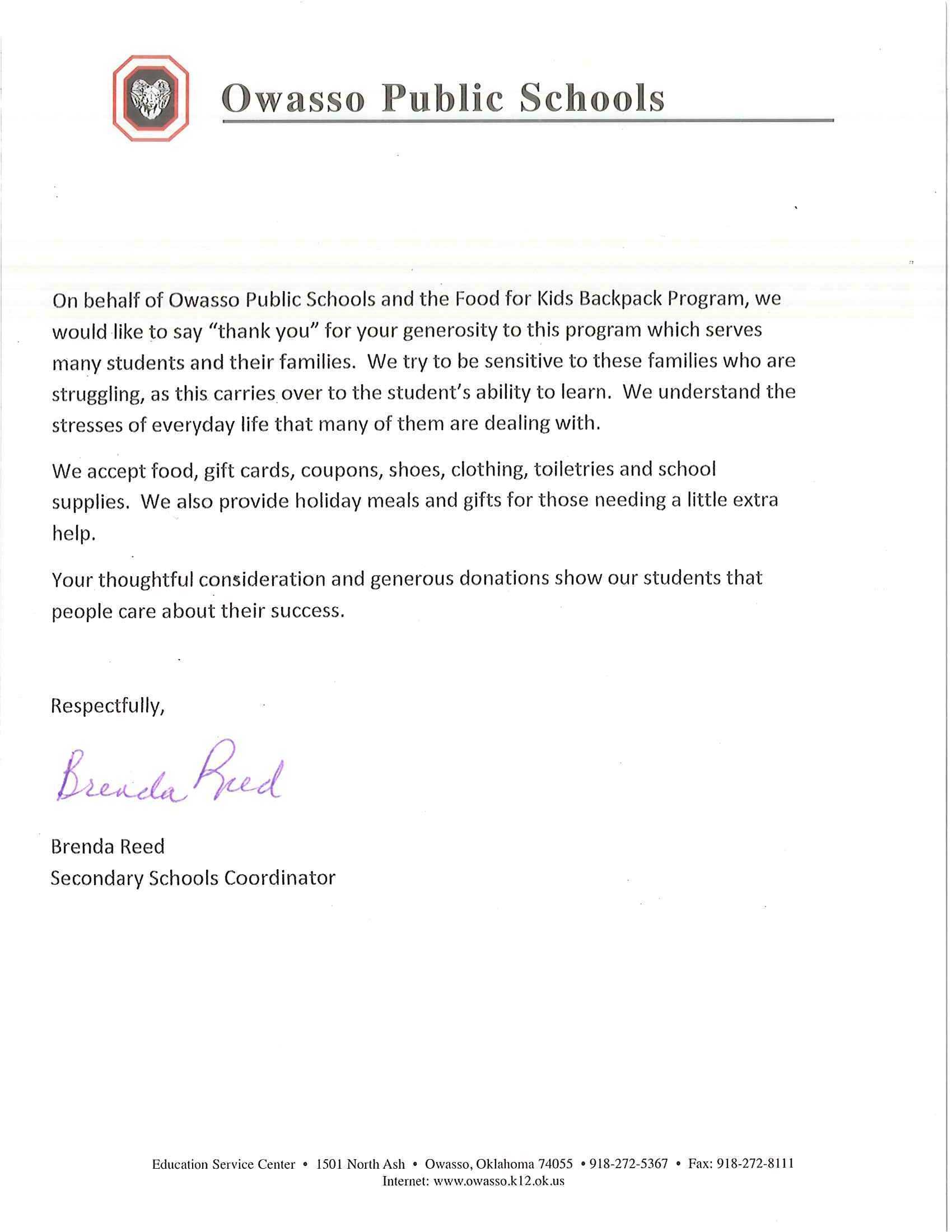 Classic Chevrolet Supports Our Local Owasso Community