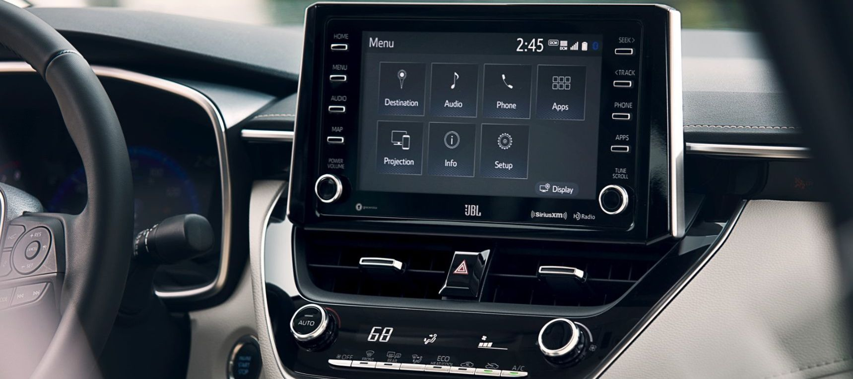 2020 Corolla Touchscreen